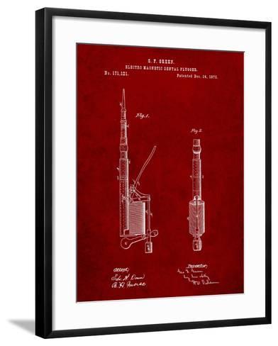Dentists Drill Patent-Cole Borders-Framed Art Print