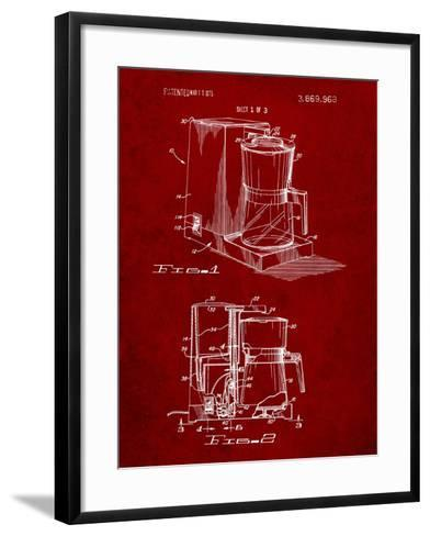 Coffee Maker Patent-Cole Borders-Framed Art Print