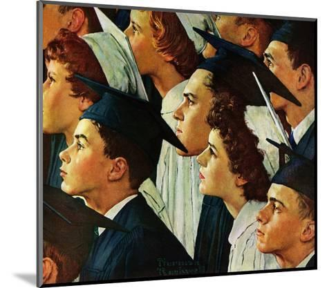 Bright Future Ahead-Norman Rockwell-Mounted Giclee Print