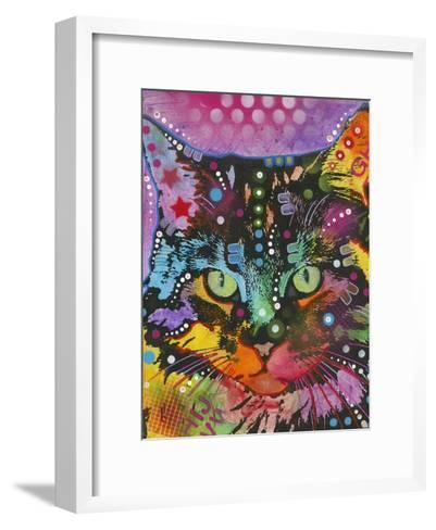 Cat-Dean Russo-Framed Art Print