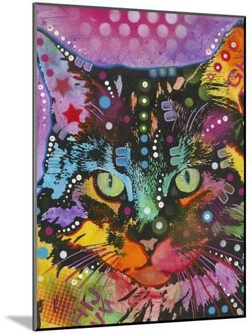 Cat-Dean Russo-Mounted Giclee Print