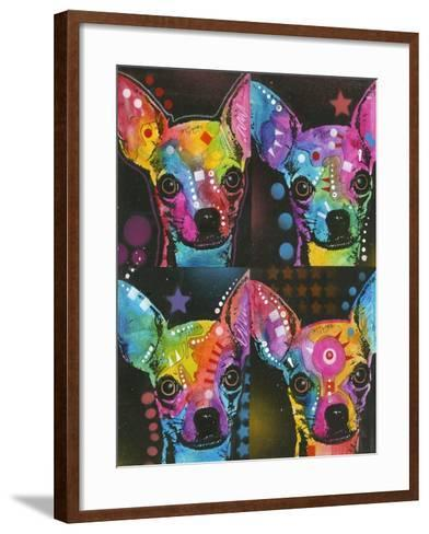 Miniature Pinscher-Dean Russo-Framed Art Print