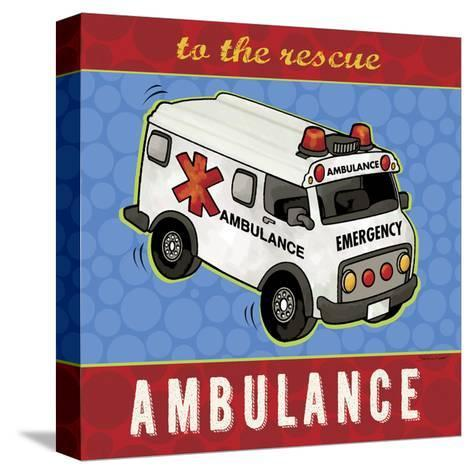 Ambulance-Stephanie Marrott-Stretched Canvas Print