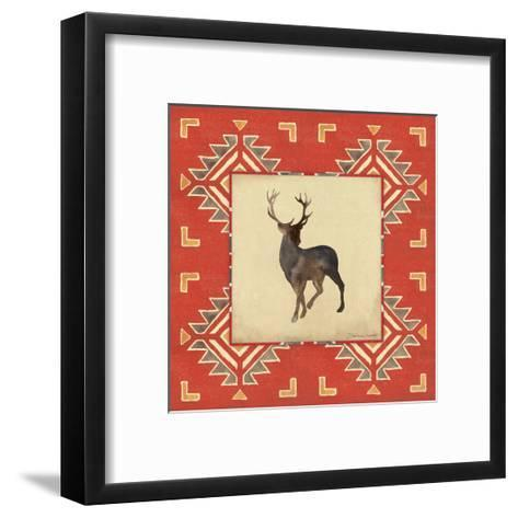 Deer Blanket-Stephanie Marrott-Framed Art Print