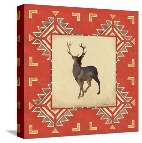 Deer Blanket-Stephanie Marrott-Stretched Canvas Print