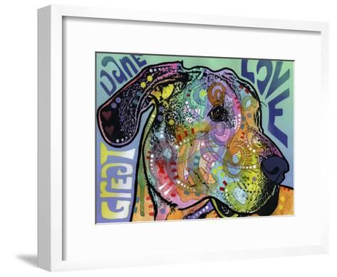 Great Dane Luv-Dean Russo-Framed Art Print