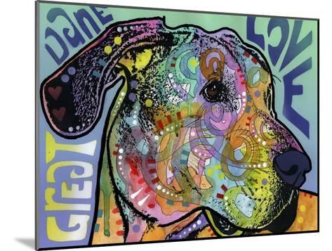 Great Dane Luv-Dean Russo-Mounted Giclee Print