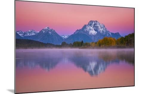 Belt of Venus at Oxbow-Darren White Photography-Mounted Photographic Print