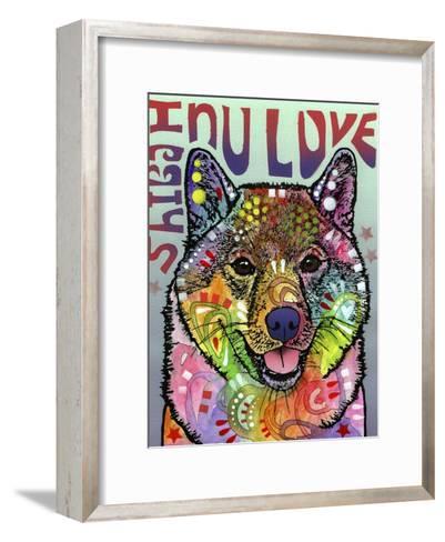 Shiba Inu Luv-Dean Russo-Framed Art Print