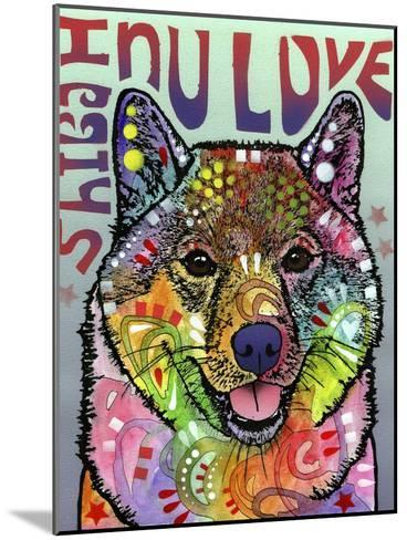 Shiba Inu Luv-Dean Russo-Mounted Giclee Print