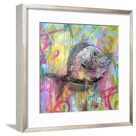 Blue Tang-Dean Russo-Framed Art Print