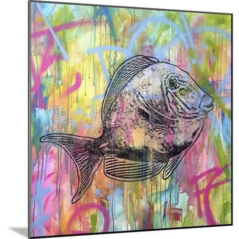 Blue Tang-Dean Russo-Mounted Giclee Print
