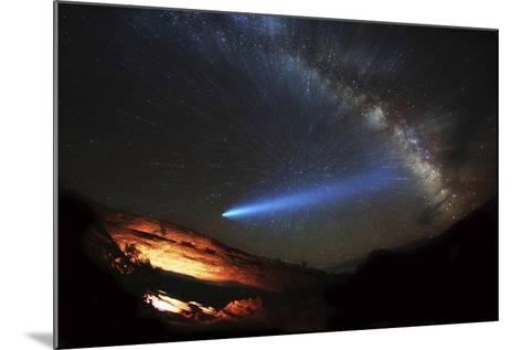 Galactic Traveler-Darren White Photography-Mounted Photographic Print