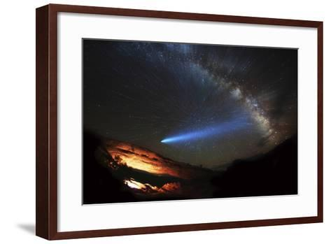 Galactic Traveler-Darren White Photography-Framed Art Print