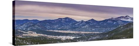 Many Parks Pano-Darren White Photography-Stretched Canvas Print