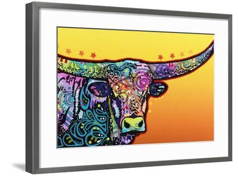 Longhorn-Dean Russo-Framed Art Print