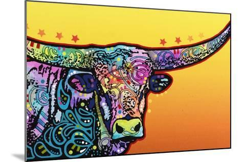 Longhorn-Dean Russo-Mounted Giclee Print