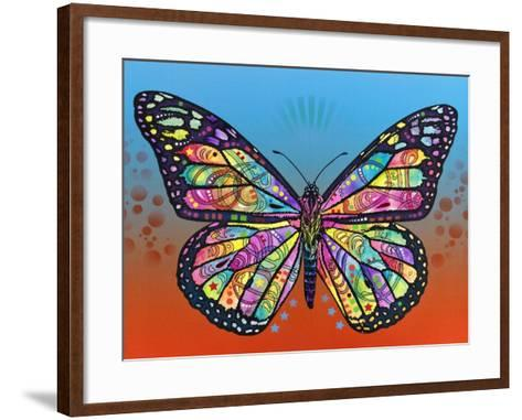Butterfly-Dean Russo-Framed Art Print