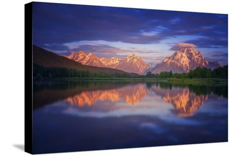 Morans Cloudcap-Darren White Photography-Stretched Canvas Print