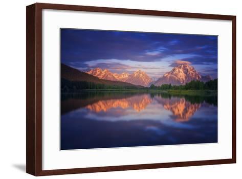 Morans Cloudcap-Darren White Photography-Framed Art Print