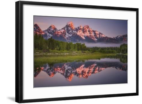 Teton Awakening-Darren White Photography-Framed Art Print