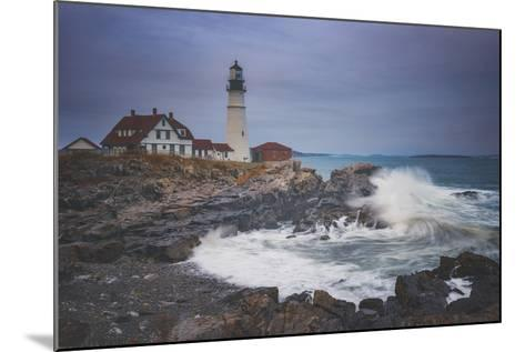 Cape Elizabeth Storm-Darren White Photography-Mounted Photographic Print
