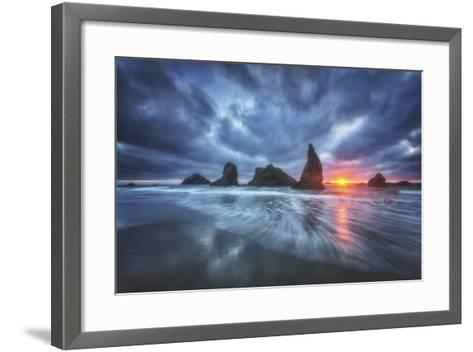 Moody Blues of Oregon-Darren White Photography-Framed Art Print