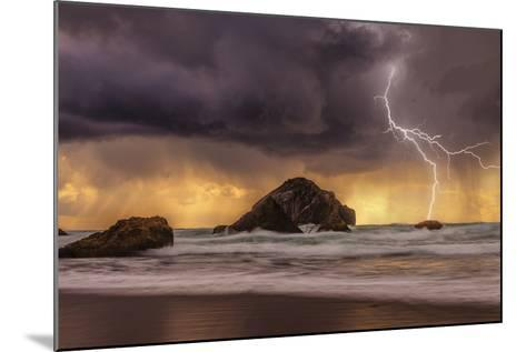 Storm at Face Rock1-Darren White Photography-Mounted Photographic Print