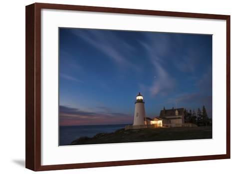 Pemaquid Dawn-Darren White Photography-Framed Art Print