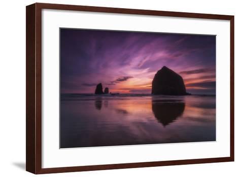 Cannon Beach Dreams-Darren White Photography-Framed Art Print