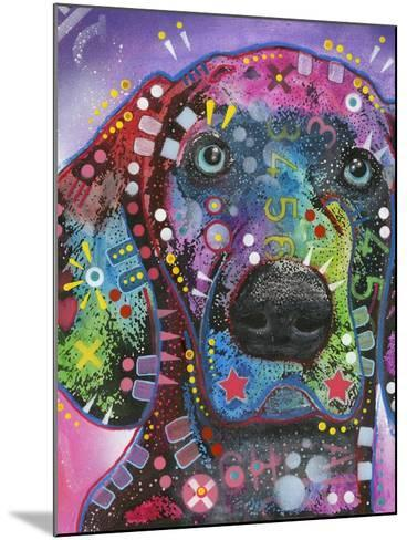 Purple Excitement-Dean Russo-Mounted Giclee Print