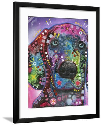 Purple Excitement-Dean Russo-Framed Art Print