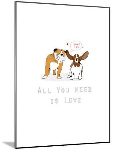 All You Need Is Love-Hanna Melin-Mounted Art Print