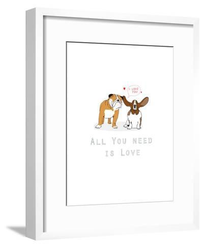 All You Need Is Love-Hanna Melin-Framed Art Print