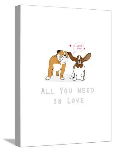 All You Need Is Love-Hanna Melin-Stretched Canvas Print