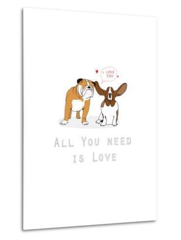 All You Need Is Love-Hanna Melin-Metal Print