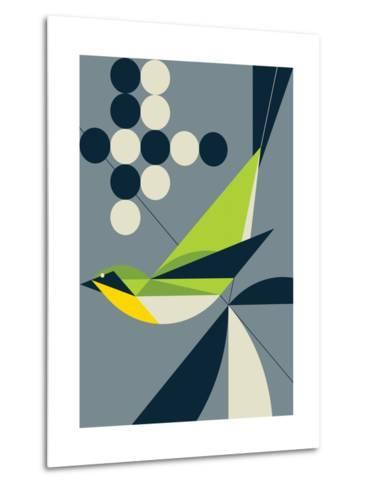 Warbler-Greg Mably-Metal Print