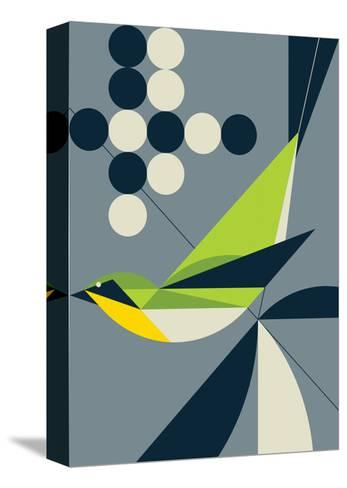 Warbler-Greg Mably-Stretched Canvas Print