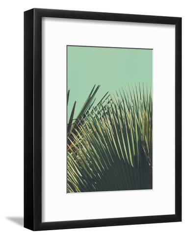 Abstrac Tropical Vintage Background. Retro Toned.-sk901-Framed Art Print