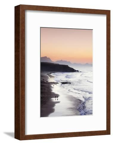 View from Playa Del Viejo to the Peninsula of Jandia-Markus Lange-Framed Art Print