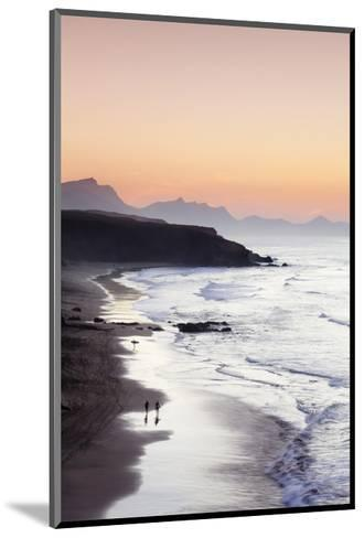 View from Playa Del Viejo to the Peninsula of Jandia-Markus Lange-Mounted Art Print