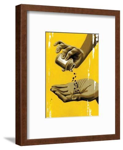 Musical Healing-Thomas Fuchs-Framed Art Print