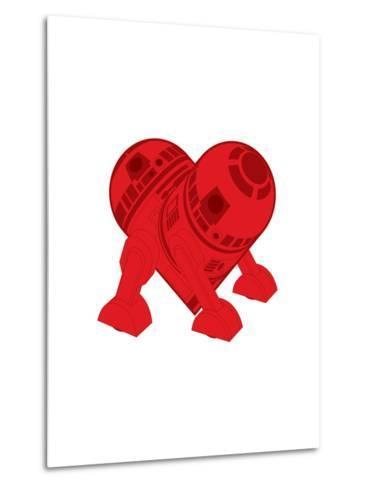 R2DT Needs Love 2-Thomas Fuchs-Metal Print