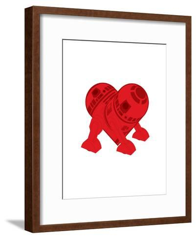 R2DT Needs Love 2-Thomas Fuchs-Framed Art Print