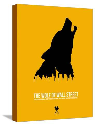 The Wolf of Wall Street-David Brodsky-Stretched Canvas Print