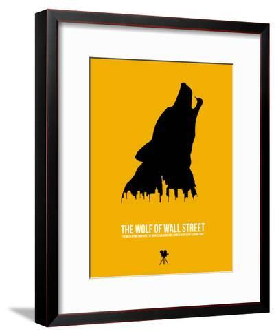 The Wolf of Wall Street-David Brodsky-Framed Art Print
