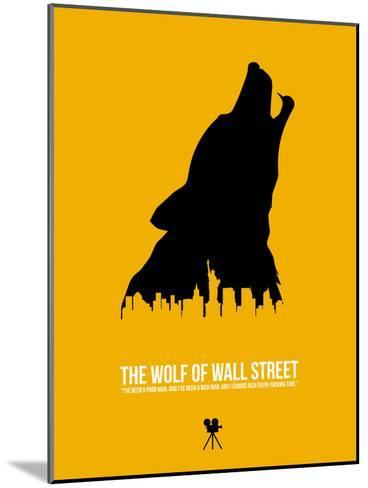 The Wolf of Wall Street-David Brodsky-Mounted Art Print
