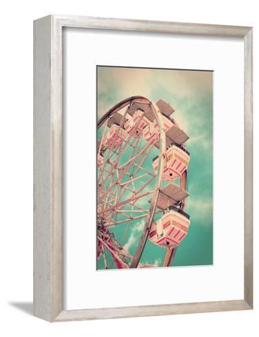 Vintage Ferris Wheel-SeanPavonePhoto-Framed Art Print