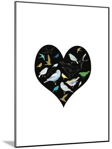 A Group of Birds Is Called a Flock-Francesca Iannaccone-Mounted Art Print