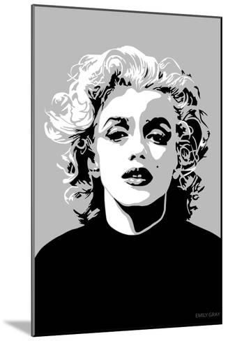Marilyn - Goodbye Norma Jean-Emily Gray-Mounted Art Print